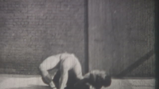 vintage wrestling 1920's - wrestling stock videos and b-roll footage