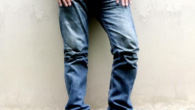 vintage_blue_jeans_hd - dżinsy filmów i materiałów b-roll