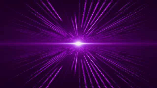 Violet abstract technology digital background perspective with light