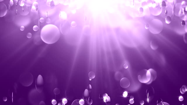Violet Particle Background (Loopable) video