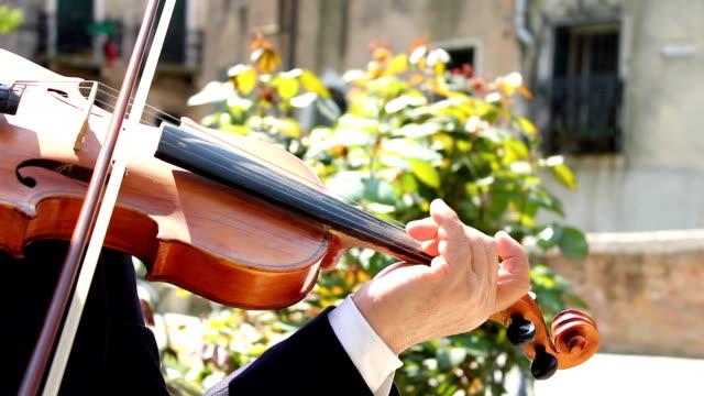 Violin player (HD) video