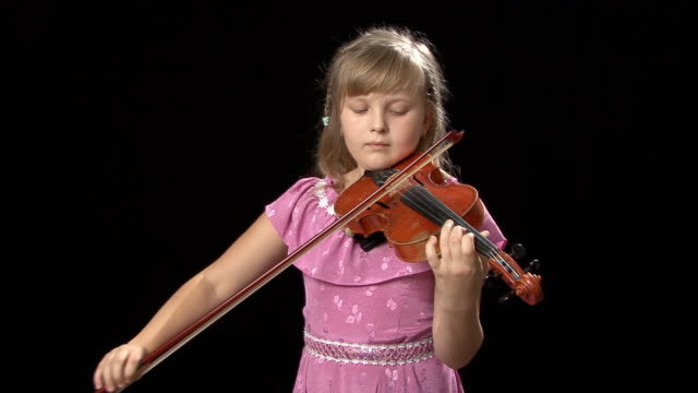Best Violin Girl Stock Videos and Royalty-Free Footage - iStock