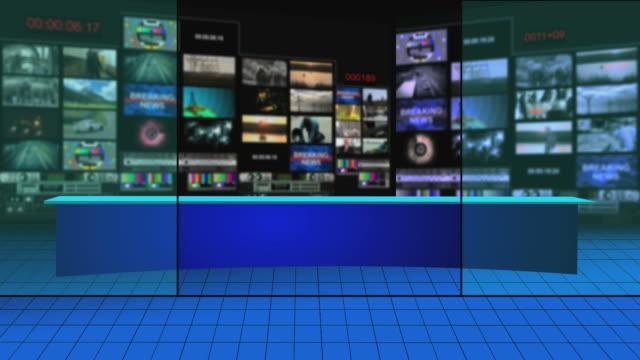 wirtualne transmisji studio - studio filmów i materiałów b-roll