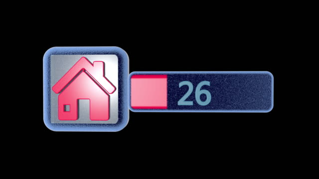 Virtual house icon. The inclusion of an abstract home. Electronic building sign. Perform a download. Activation process. Abstract idea concept. Virtual house icon. The inclusion of an abstract home. Electronic building sign. Perform a download. Activation process. Abstract idea concept. housing logo stock videos & royalty-free footage