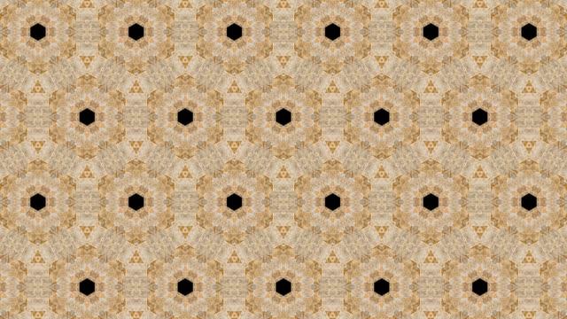 virtuell kalejdoskop sekvens mönster, infinity eller sömlös loop. - mandala bildbanksvideor och videomaterial från bakom kulisserna