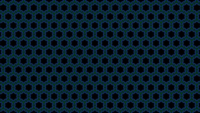 stockvideo's en b-roll-footage met virtuele caleidoscoop reeks patronen, infinity of naadloze loops. - mandala