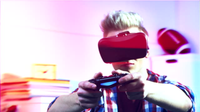Virtual playing with game controller video