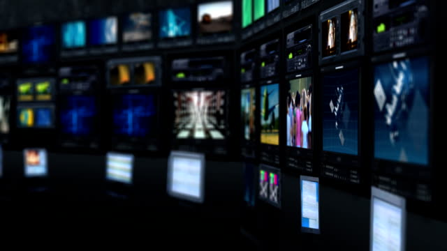 vídeos de stock, filmes e b-roll de estúdio virtual - antena parabólica