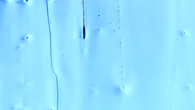 Viscous Flow 03 blue video