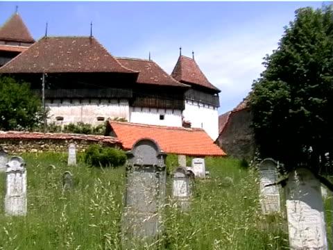 Viscri, White Church, Romania video