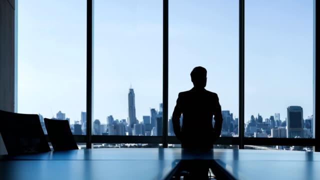 vídeos de stock e filmes b-roll de vision of leader. - liderança