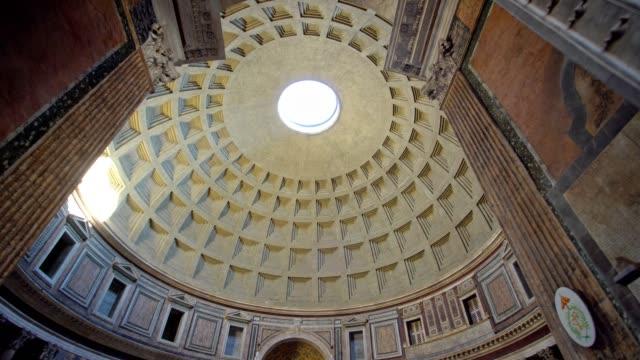 vidéos et rushes de visiter le panthéon rome - rome