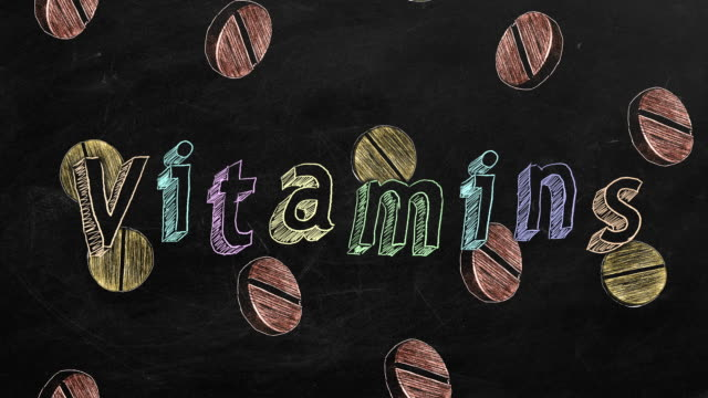 vitamin - vitamin d stok videoları ve detay görüntü çekimi