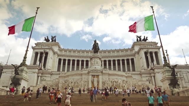 Vittorio Emanuele Monument in Rome video