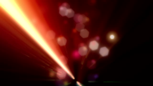 Vj Party Lights Red Loopable Background video