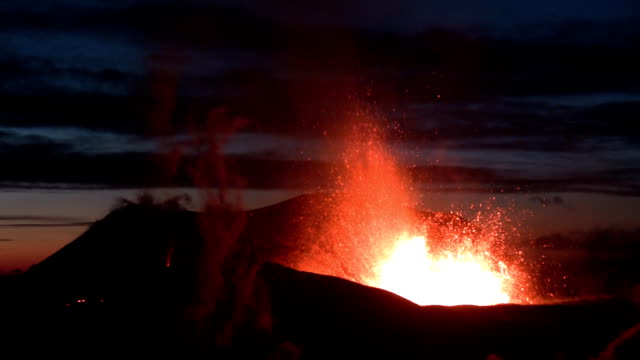 Volcanic Eruption in Iceland (Eyjafjallajokull) Marz 2010 video