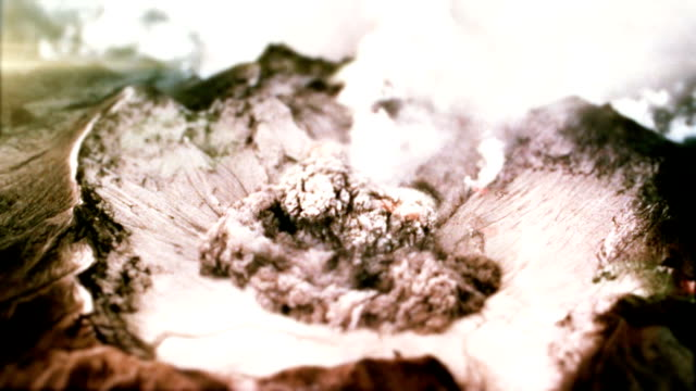 Volcanic Eruption video