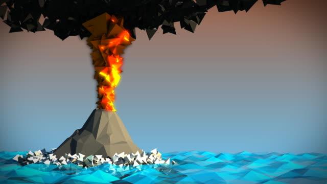 vulkan - vulkan stock-videos und b-roll-filmmaterial