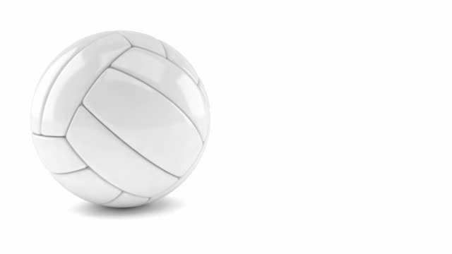 volley ball roll from right side - volleyball stock videos and b-roll footage