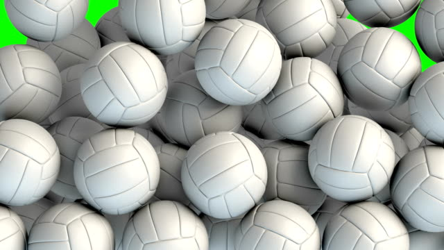 volley balls transition effect - volleyball stock videos and b-roll footage