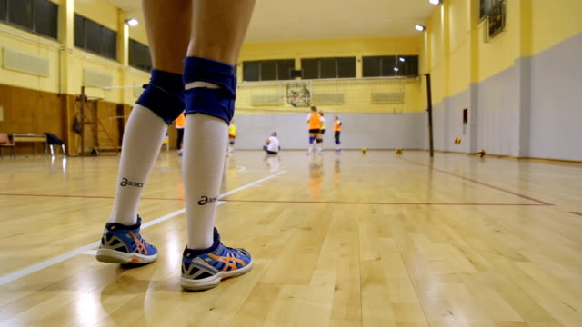 volleyball-praxis - volleyball stock-videos und b-roll-filmmaterial