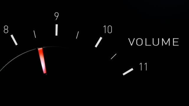 Volume dial rotates to eleven.