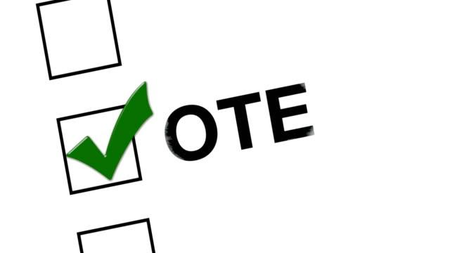 Vote for america, check box