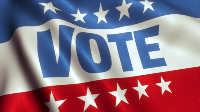 vidéos et rushes de vote des états-unis élection présidentielle américaine bannière 4k - vote