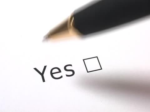 I vote Yes! video