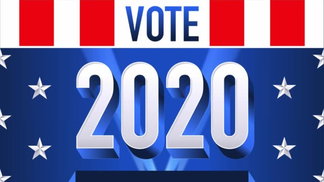 Voting in The United States. 2020 elections.