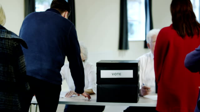 投票ライン - 選挙点の映像素材/bロール