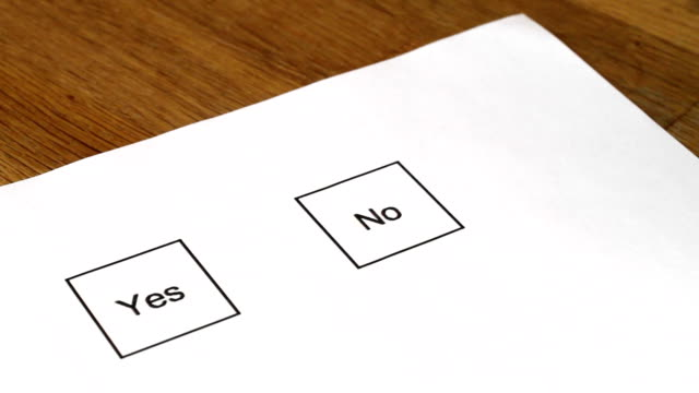 Voting Marking No video