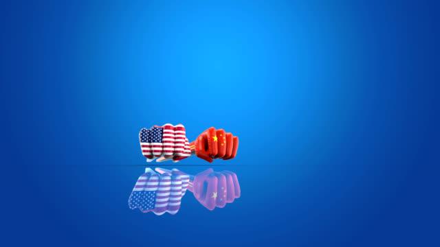 USA vs China - 3D Animation