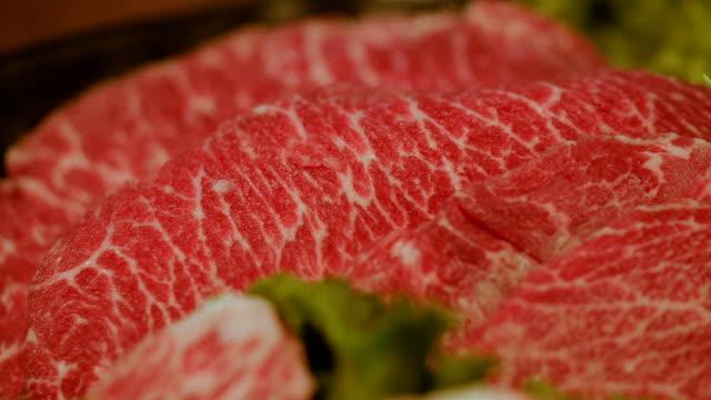 wagyu beef wagyu beef beef stock videos & royalty-free footage