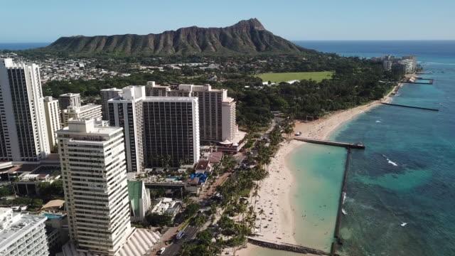 Waikiki and Diamond Head From Above