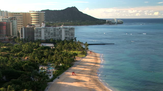 Waikiki Beach & Diamond Head video
