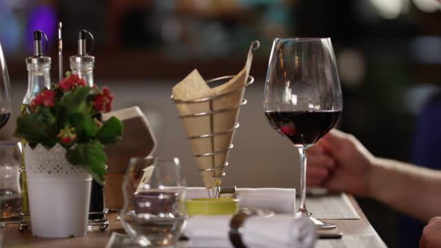 Waiter Serving Pizza 4K slow motion video