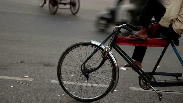 waiting Rickshaw in Delhi video
