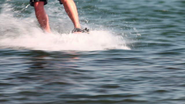 HD Wakeboarding with Helmet Cam video