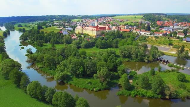 Walderbach Monastery Village In Bavaria video