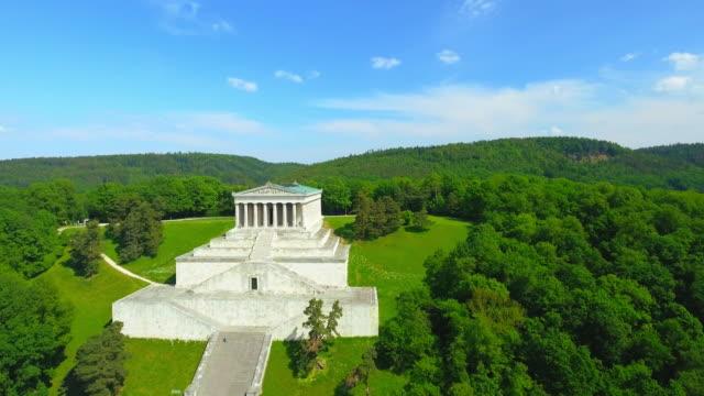 Walhalla Memorial Above The Danube River video