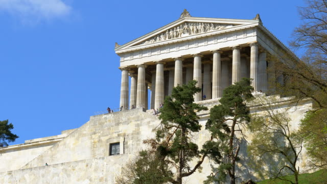 Walhalla Memorial And Its Stairs video