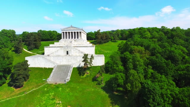 Walhalla Memorial Near Regensburg In Bavaria video