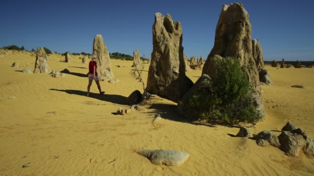 walk in Pinnacles Desert video