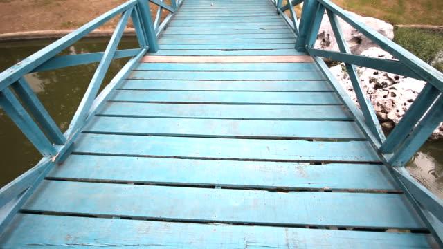 Walk on a bridge video