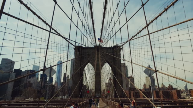 Walk on the Brooklyn bridge video