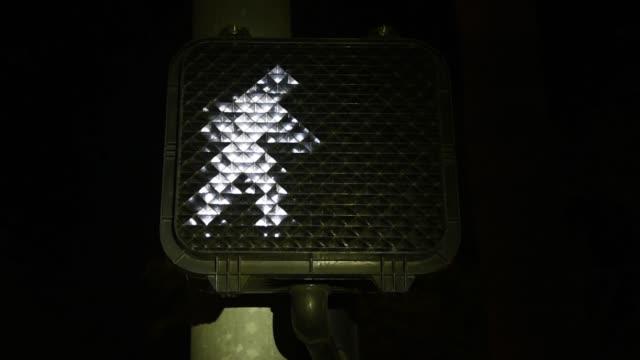 Walk traffic symbol counting down