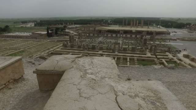 Walking around Persepolis, Iran video