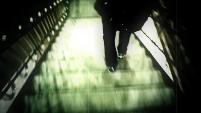 たり損傷した動画の階段 - 階段点の映像素材/bロール