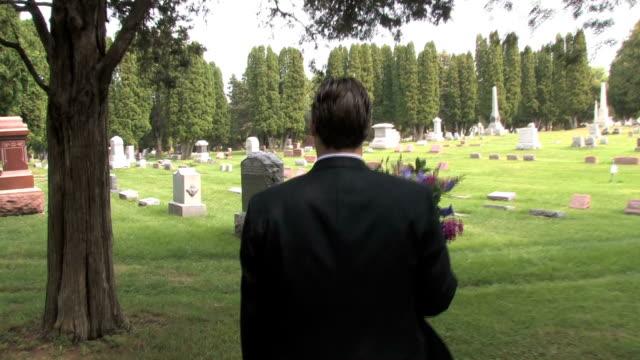 Walking in Cemetery 4 video